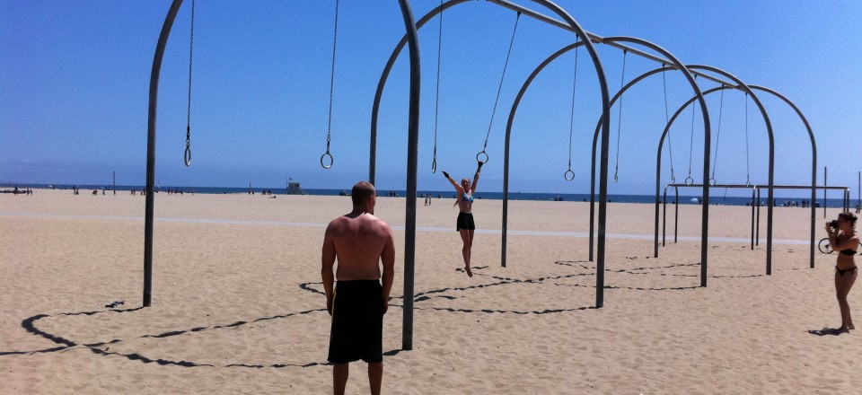Muscle Beach, Santa Monica